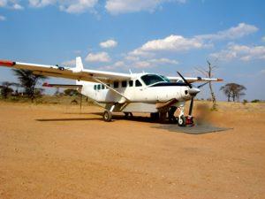 LZG humanitaire hulp door de lucht